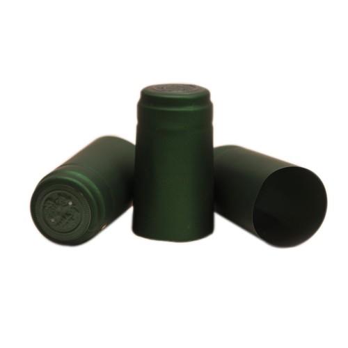 Capisoane termocontractibile PVC 31 x 60 mm - verde