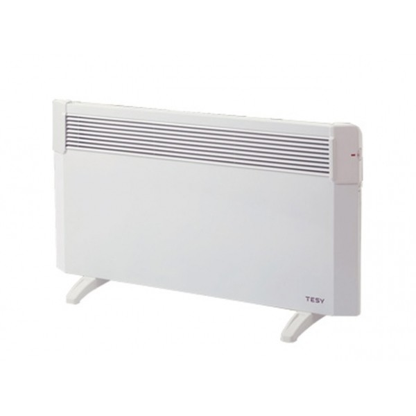 Convector electric de podea TESY CN03 300 MIS F, 3000 W, termostat manual, suprafata incalzita 24-32 mp