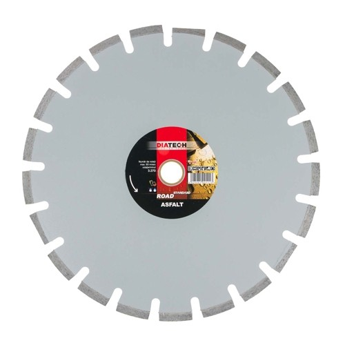 Disc diamantat asfalt DIATECH ROAD ASFALT STANDARD 400 x 30/25.4 mm