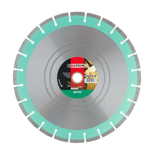Disc diamantat beton Diatech Road Beton Plus, 500 x 30/25.4 x 4.5 mm