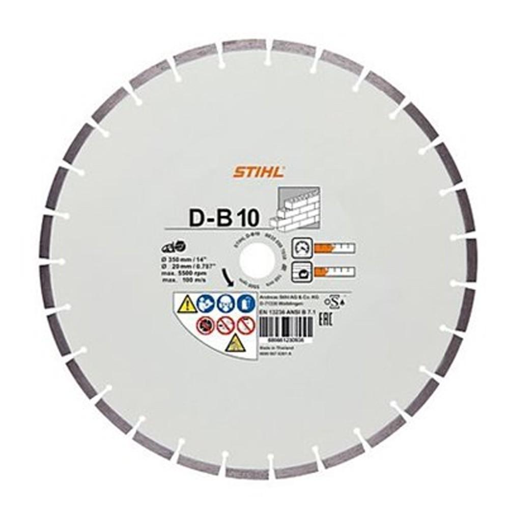 Disc diamantat beton STIHL D-B10, Ø 400 mm