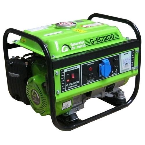Generator de curent electric Greenfield G-EC1200, 1.1 kVA, monofazat, benzina