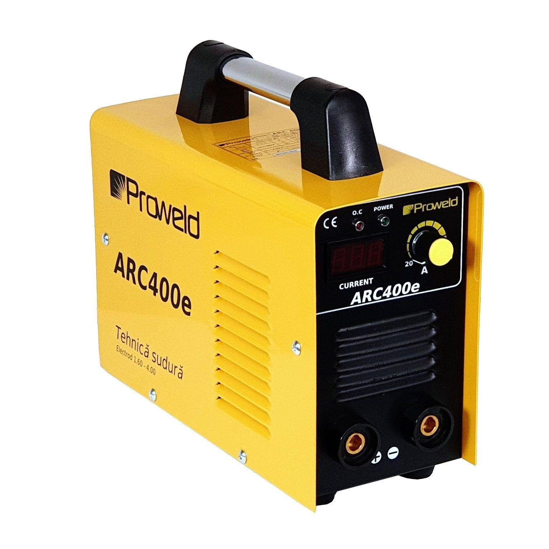 Invertor de sudura ProWELD ARC400e, 230 V, 20-180 A, electrod max. 4 mm, valiza transport
