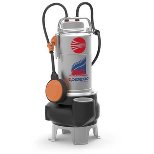 Pompa submersibila apa murdara Pedrollo BCm 15/50-ST, 1100 W, 750 l/min, Hmax 14 m, corp inox