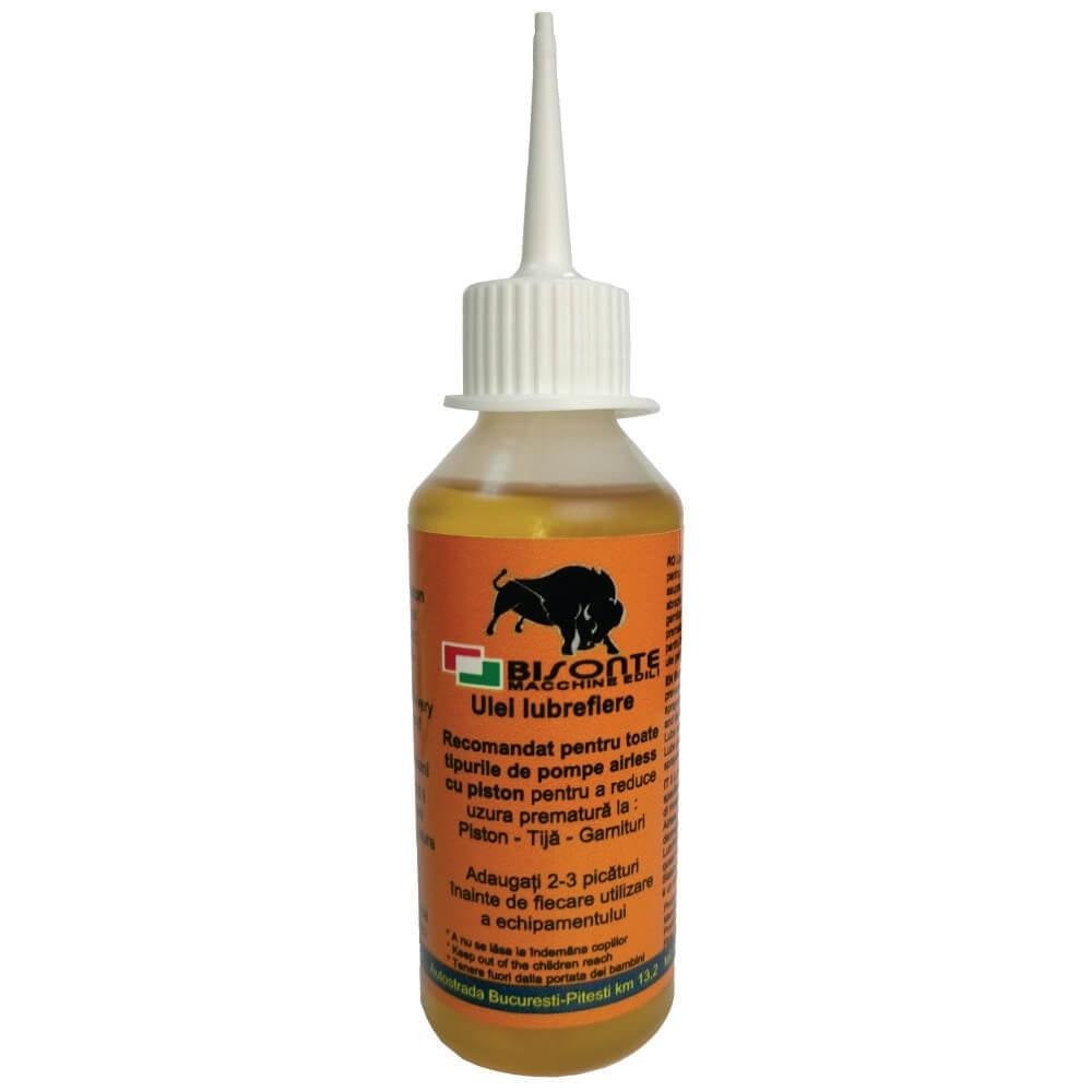 Ulei pentru lubrifiere pompe airless BISONTE, 100 ml