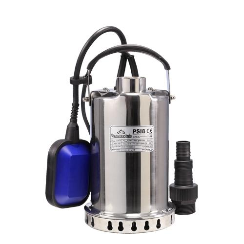 Pompa submersibila cu plutitor pentru apa semimurdara Wasserkonig PSI8, 400 W, 116 l/min, Hmax 6.5 m [0]